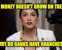 Ocasio-Cortez Trying To Force Banks To Implement Her Socialist Agenda
