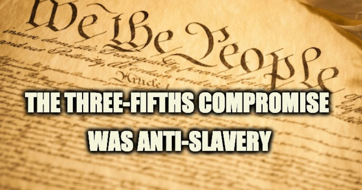 three fifths compromise