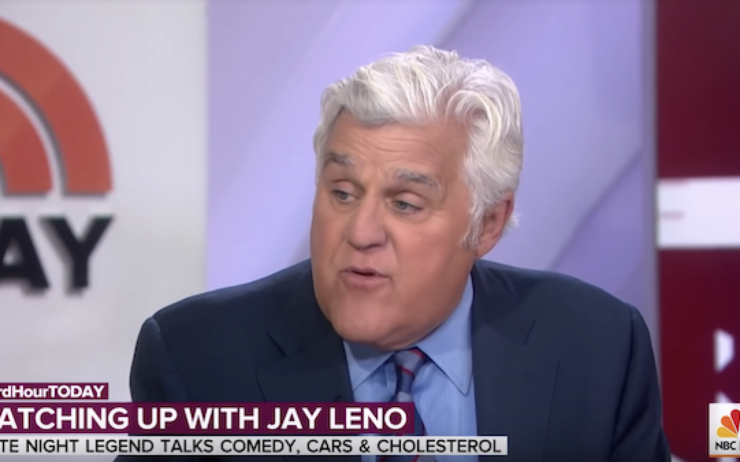 Jay Leno Rips Late Night TV For One-Sided, Mean Spirited Politics