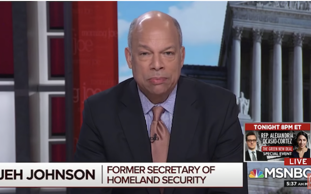 Obama's DHS Secretary Jeh Johnson Says 'We Truly Are In A Crisis At The Border'