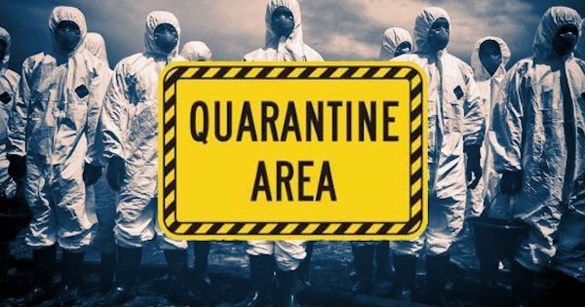2,000 migrants quarantine
