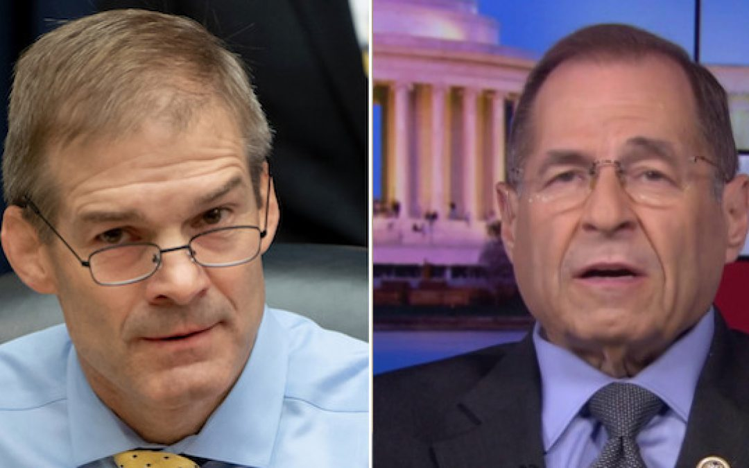 Rep. Jim Jordan is NOT Anti-Semitic And Jerrold Nadler Is Not A Friend Of The Jews