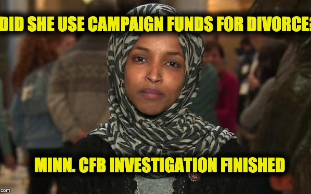 Rep. Ilhan Omar Facing Results of Campaign Finance Probe