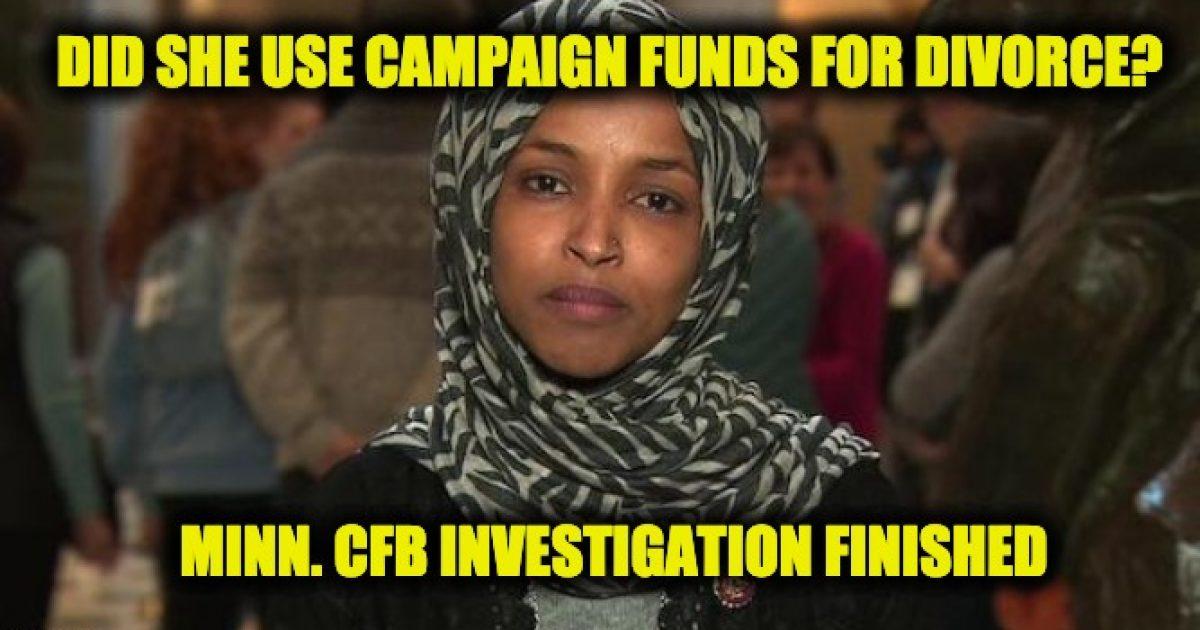 Omar campaign finance