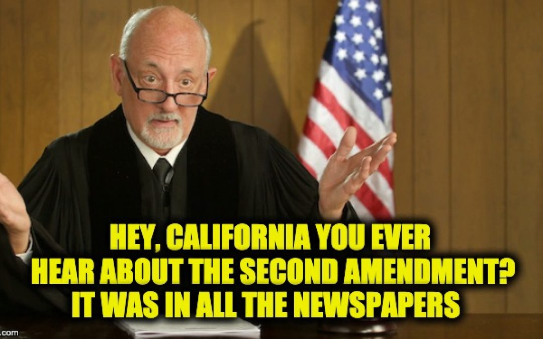 California Liberals Must Be Freaking-Out After Federal Judge Strikes Down Magazine Ban