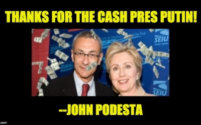 Now Feds Should Investigate The Russian Connections John Podesta Failed To Report
