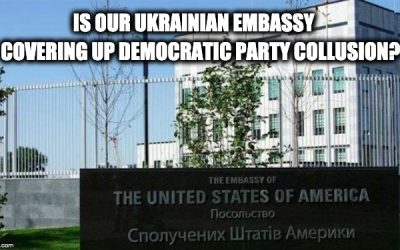 Ukraine Prosecutor Has Evidence Of Collusion W/Dems-US Envoy Stops Him From Giving To Barr