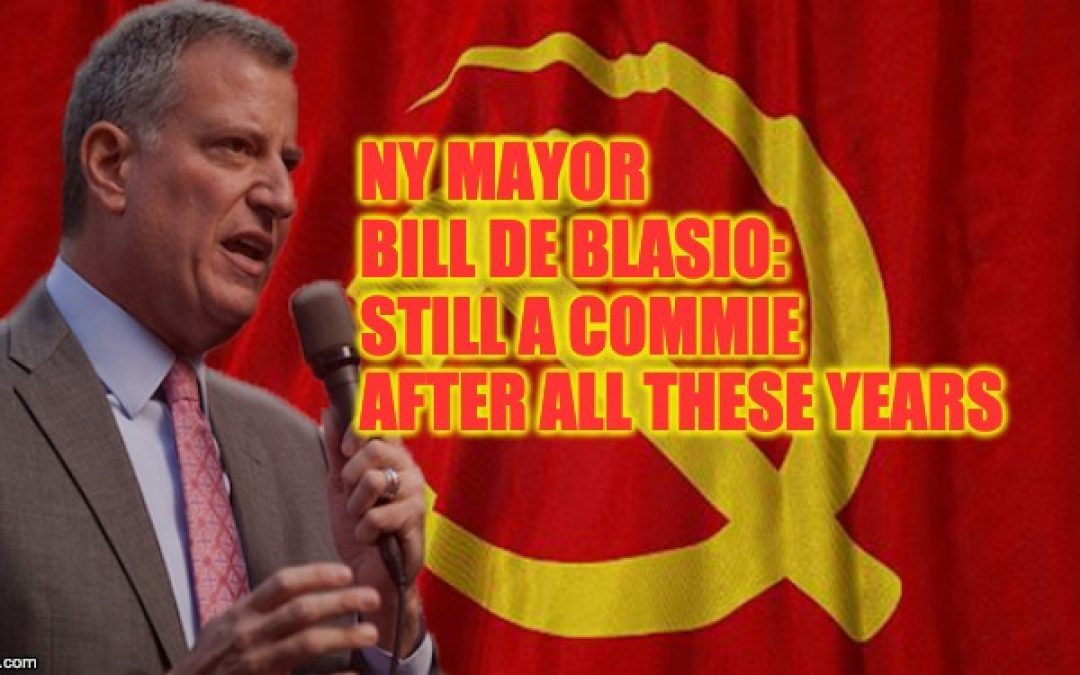 New York Mayor De Blasio Says Washington MUST 'Redistribute' America's Wealth