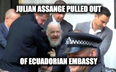 Wikileaks' Julian Assange Arrested (Update #1)