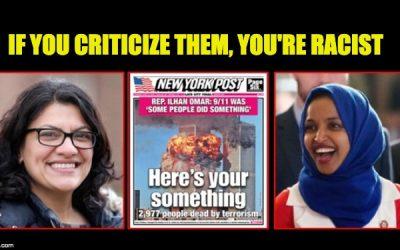 Rep. Rashida Tlaib (D-MI) Defends Ilhan Omar's (D-MN)  9/11 Comments