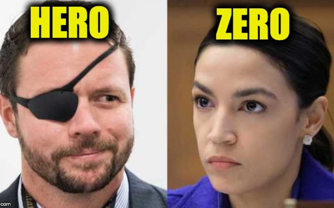 AOC Gets BLASTED For Telling Dan Crenshaw To Do Something About Terrorists (Crenshaw Shows Class)