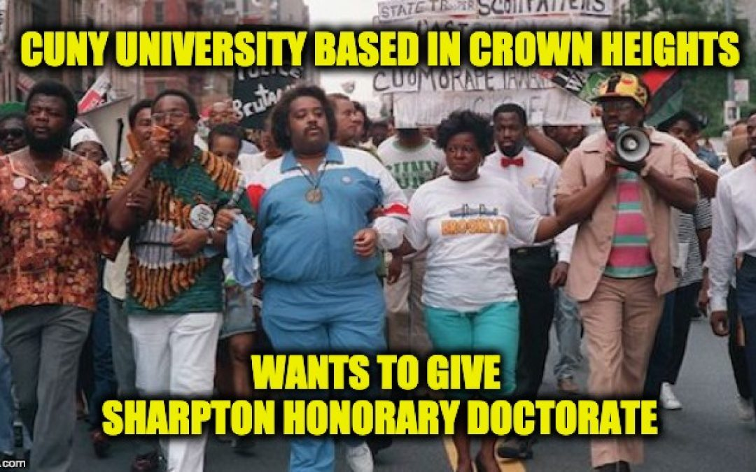 Crown Heights-Based Public College Plans To Give Al Sharpton Honorary Doctorate