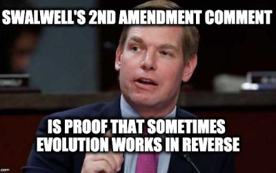 Rep. Eric Swalwell (D-CA) Says Second Amendment Not An Absolute Right