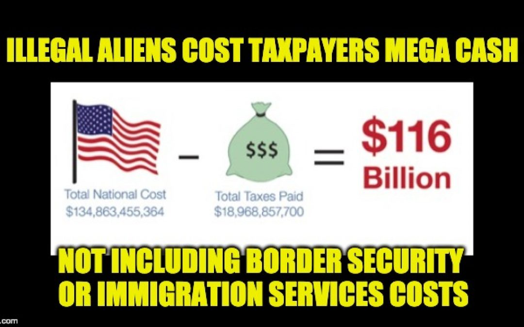Most Illegals Need Govt. Services Costing U.S. Taxpayers More Than $100 Billion/Year