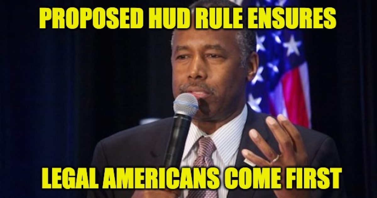 HUD legal Americans first