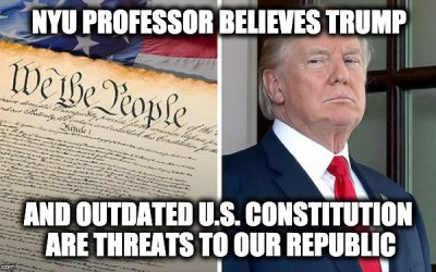 Trump Outdated Constitution
