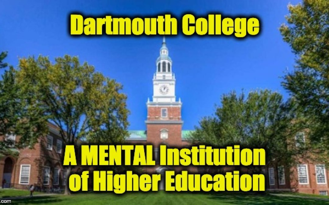 Ivy League Crazy: Dartmouth Professor Says All People Who Own a Gun are Evil