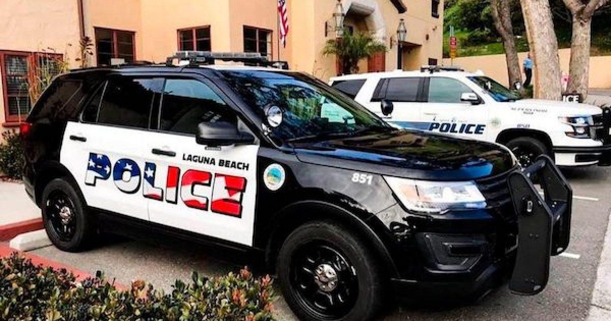Laguna Beach police cars