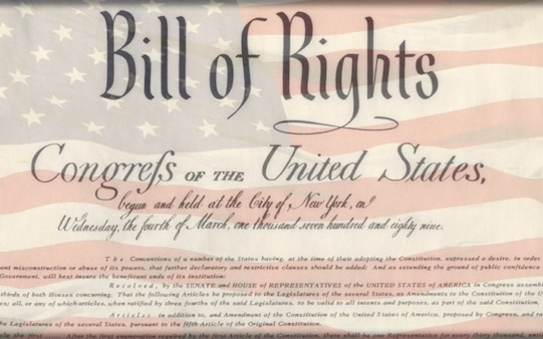 Depressing! Survey Shows Half Of Americans Don't Understand Bill Of Rights Freedoms