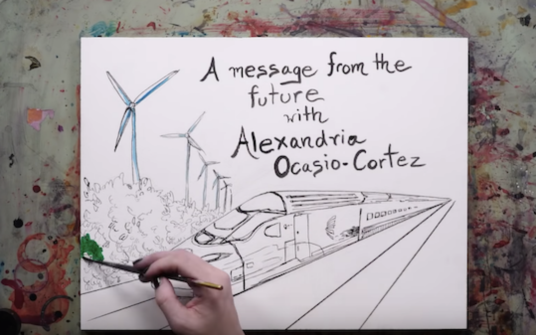 Ocasio-Cortez Makes A 'How My Green New Deal Saved The World' Video
