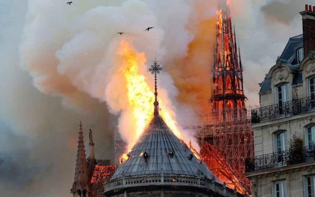 ISIS Celebrates Burning Of Notre Dame Cathedral