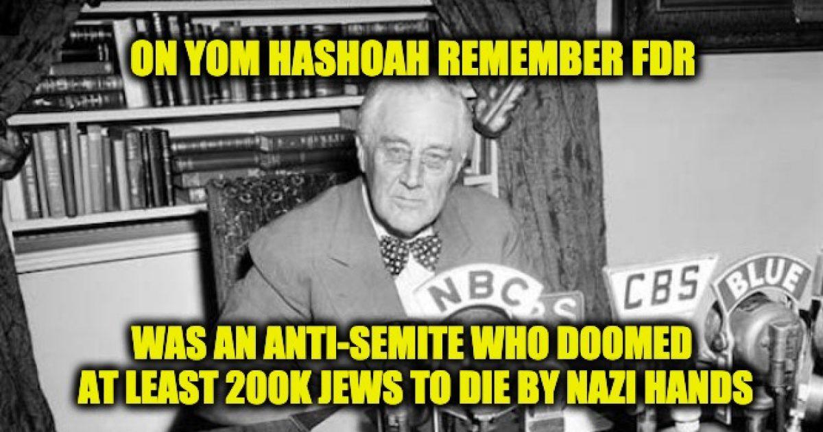 FDR's Jew hatred