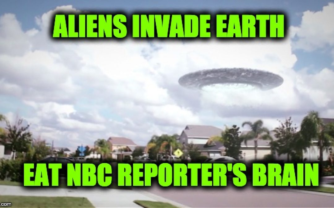 NBC Reporter Compares Global Warming Threat to Alien Invasion