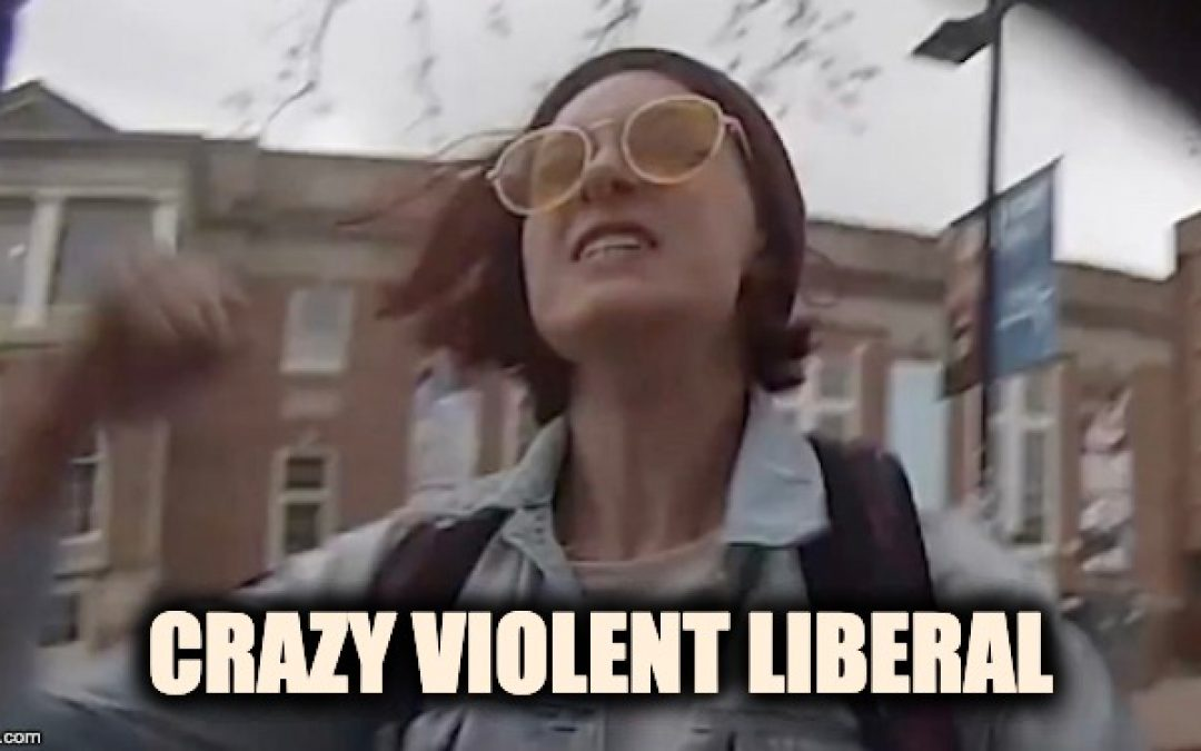 Crazy Leftist Arrested for Punching Pro-Life Student at UNC