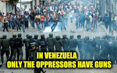 Venezuela's Disarmament Law Has Made Its People the Defenseless Sport of Tyrants