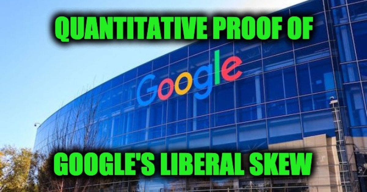 Google left wing bias