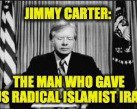 Thank Jimmy Carter For The Iran Crisis Mess