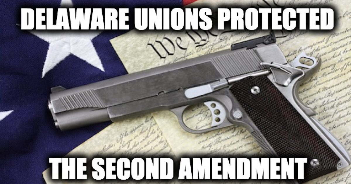 Delaware gun-grabbing law