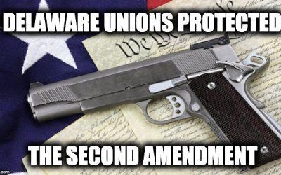 Unions Help Kill Delaware Gun-Grabbing Law