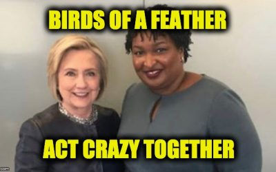 Is Stacey Abrams Living In An Alternate Universe? Or Is She Just Plain Crazy?