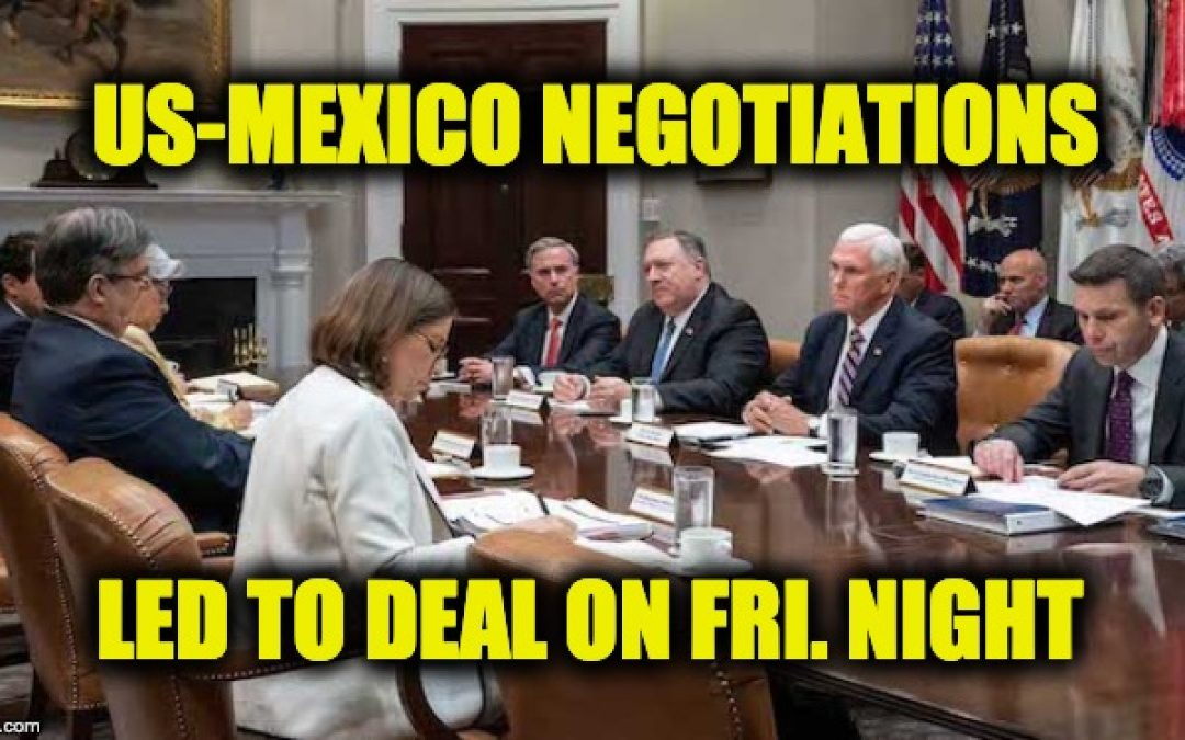 NY Times Report On US-Mexico Deal Is 'Almost Truth' Spun Into A Huge LIE