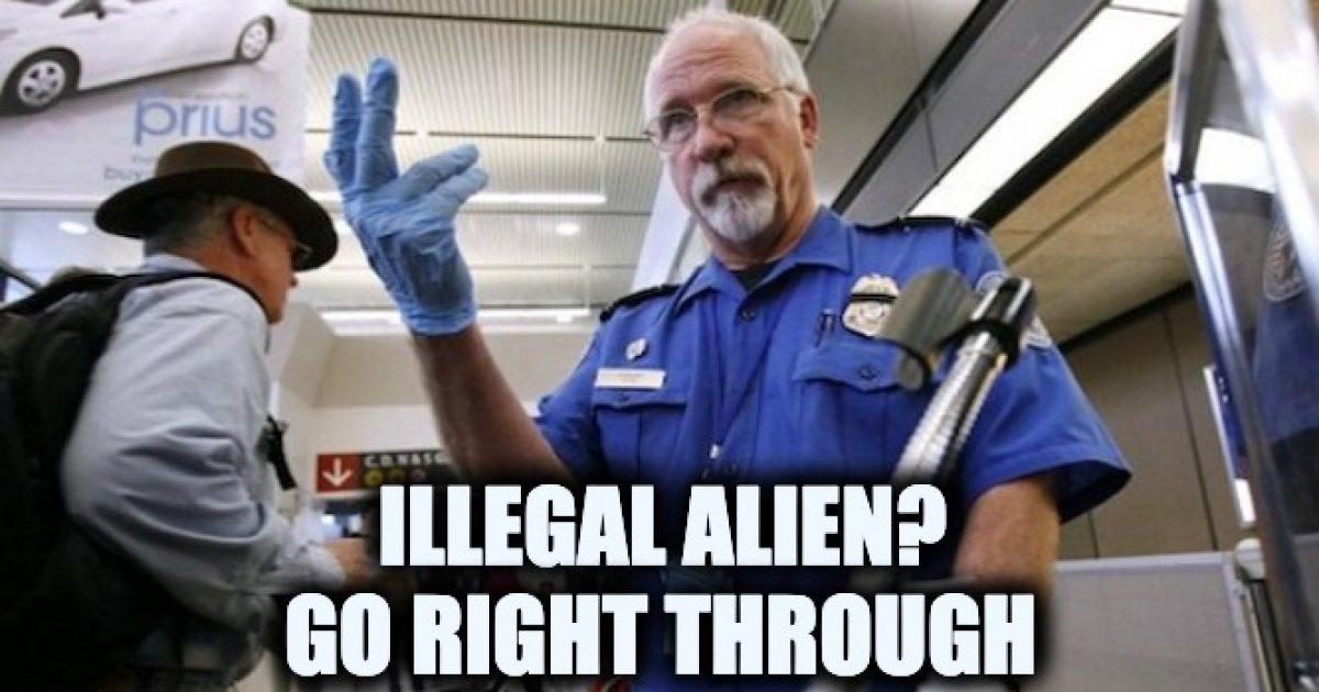 TSA illegal aliens