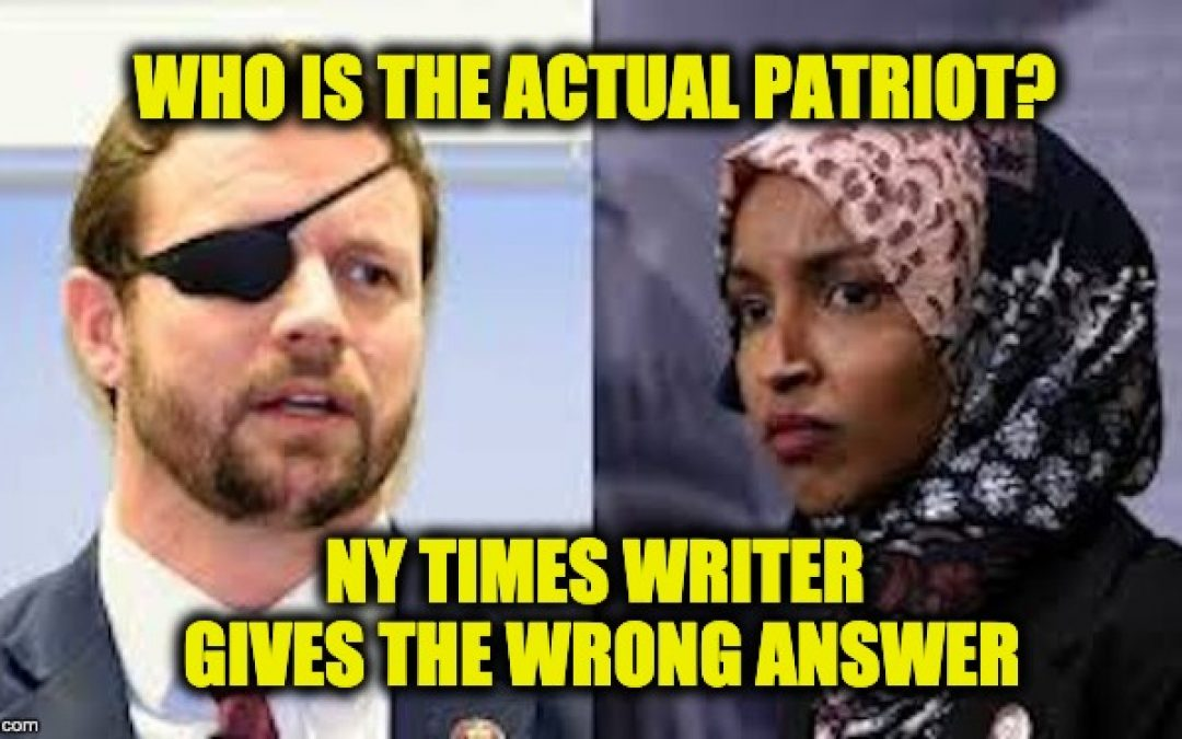 New York Times Writer Questions Dan Crenshaw's Patriotism, Gets Eviscerated