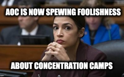 AOC's Dim-Witted Concentration Camp Comparison