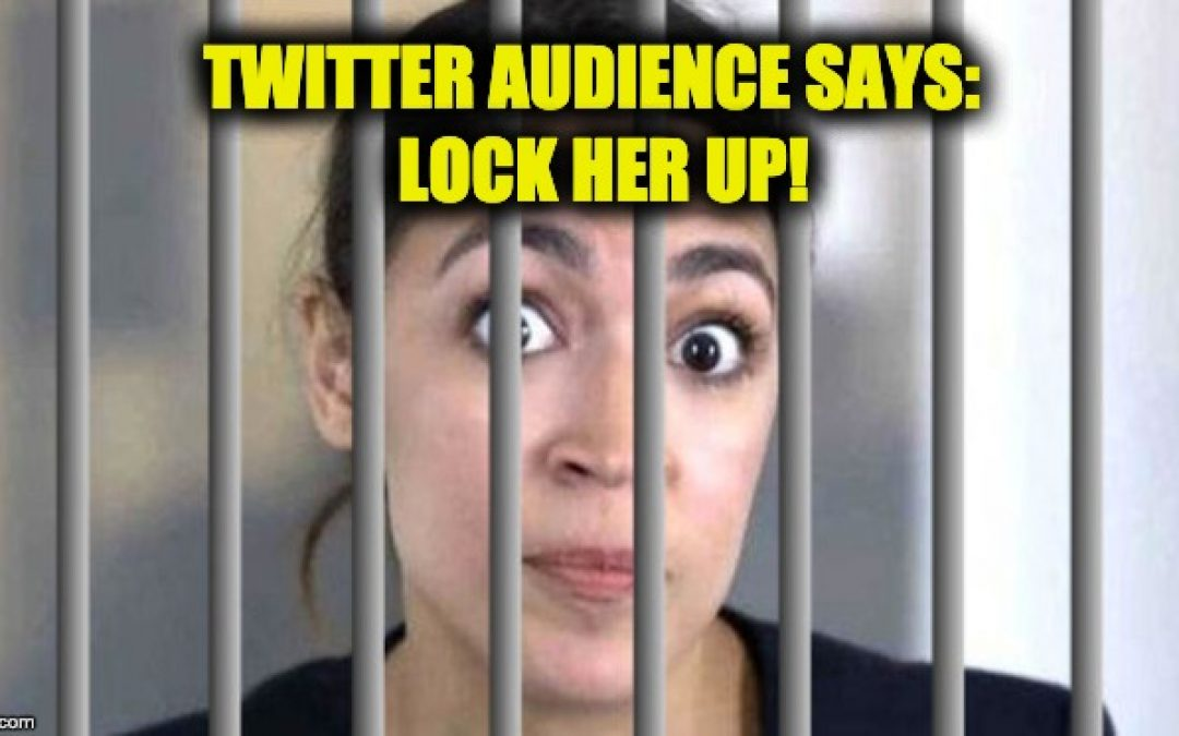 Twitter Says Lock AOC Up After She Tells Supporters To Aid And Abet Illegal Immigrants