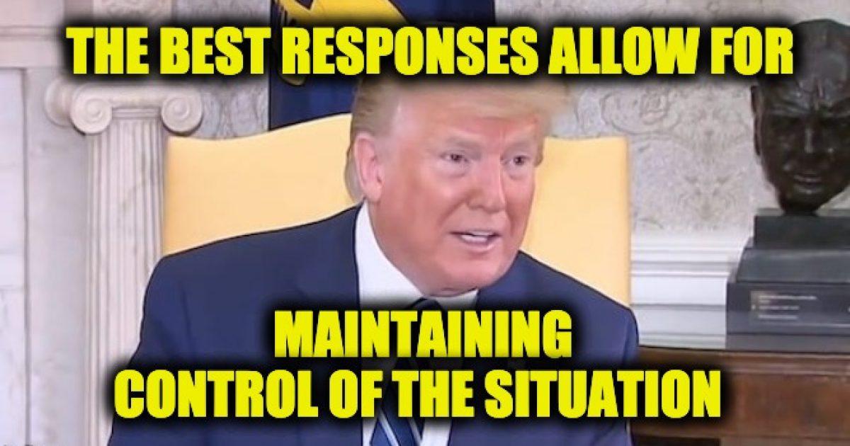 Trump's Iran response