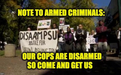 PSU Disarm Campus Police