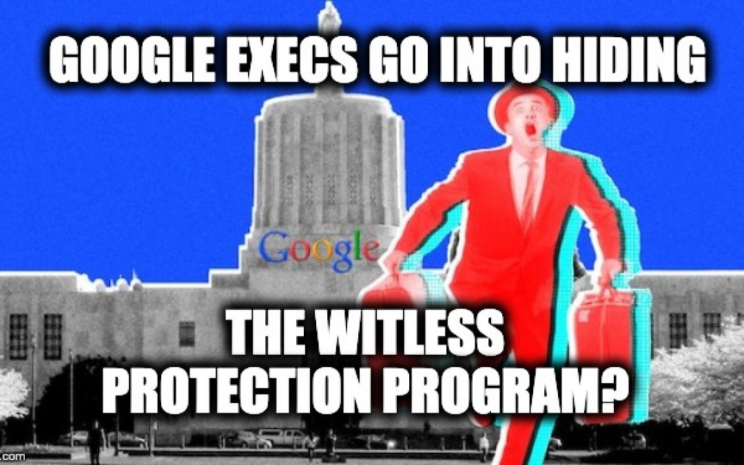 Google Execs Suddenly Go Into Hiding After Project Veritas Exposes Trump Destruction Plans