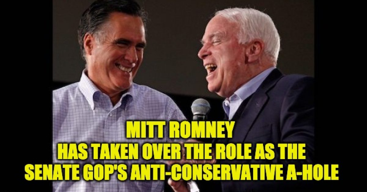 mitt romney anti-conservative