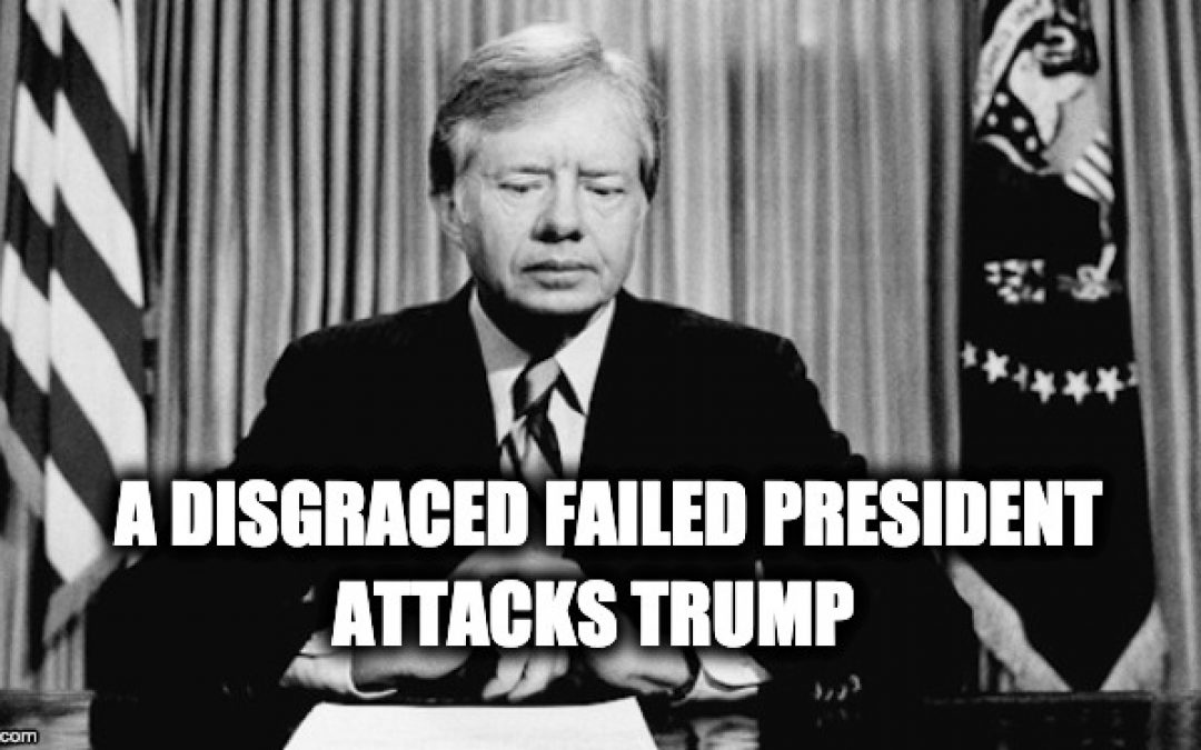 Presidential Failure Jimmy Carter Claims Trump Victory Was Illegitimate