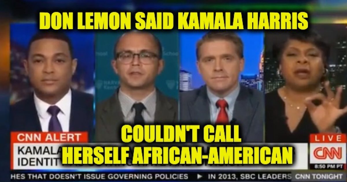 Kamala Harris Don Lemon