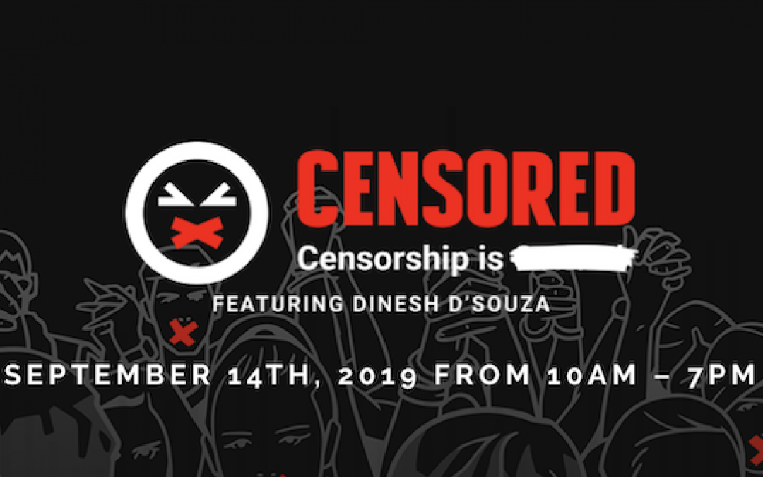 Don't Miss! CENSORED, Fighting For Conservative Free Speech Conference
