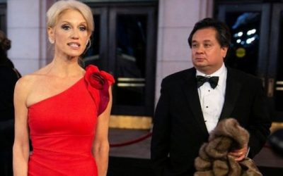 Kellyanne Conway Dismisses Husband's Trump-Bashing Column, Says Claims of Racism Are 'Tired'