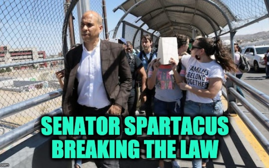 Dem. Pres. Candidate Cory Booker Personally Smuggles Five Illegal Aliens Across U.S. Border