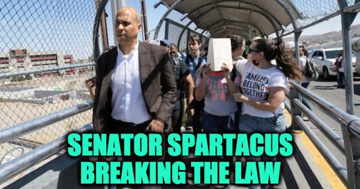 Cory Booker Illegal Aliens