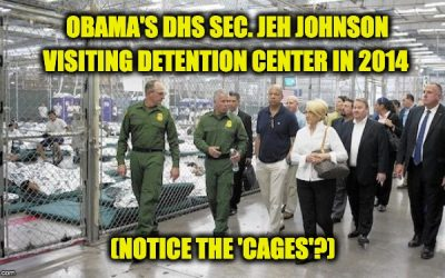 Obama's DHS Secretary Jeh Johnson Warns Democrats Against Open Borders